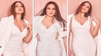 Sonakshi Sinha looks effortlessly chic in all white outfit