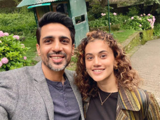Taapsee Pannu starts shooting for Blurr; Gulshan Devaiah shares picture from the sets