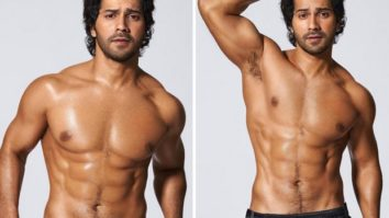 Varun Dhawan flaunts his chiseled physique in shirtless pictures