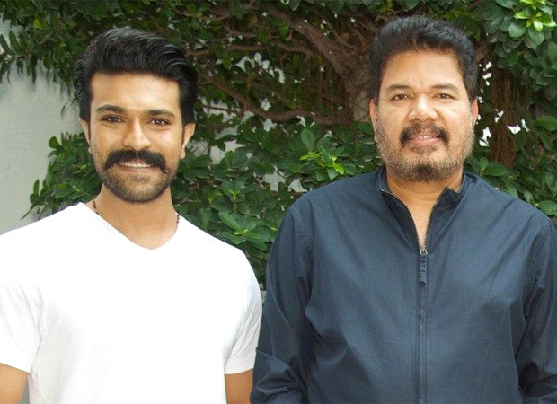 Ram Charan visits RC15 director Shankar in Chennai; shares picture from meet