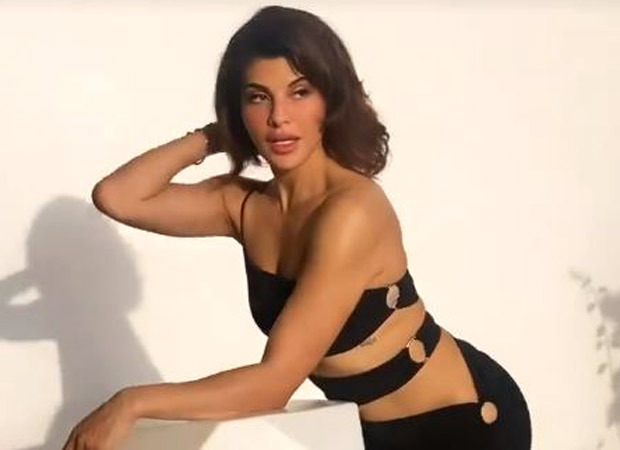 Jacqueline Fernandez sizzles in black at a photoshoot, leaves us guessing if its for a brand or a film