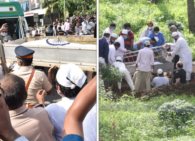 Dilip Kumar's final journey: Legendary actor laid to rest in Juhu Qabrastan with full state honours