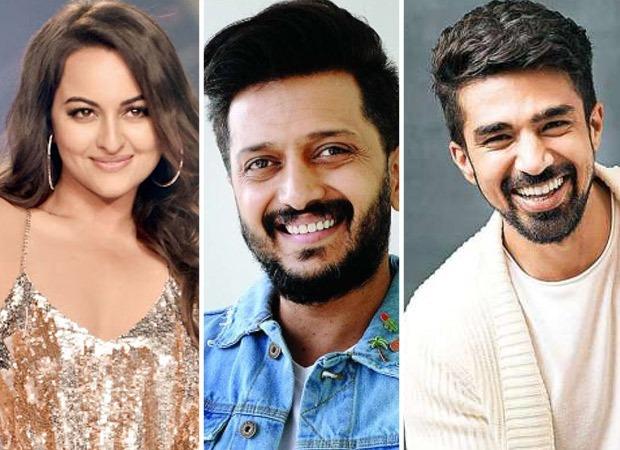 Sonakshi Sinha, Riteish Deshmukh, and Saqib Saleem's horror-comedy film to be titled Kakuda