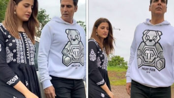 Akshay Kumar creates yet another Filhaal 2 reel with Nupur Sanon; asks fans to share their creative reels
