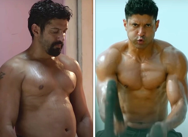The 'Toofaani Transformation' of Farhan Akhtar is summarised in this new video