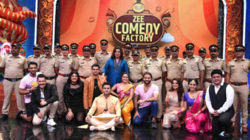 Zee Comedy Factory puts a big smile on the faces of Mumbai police at its premiere episode