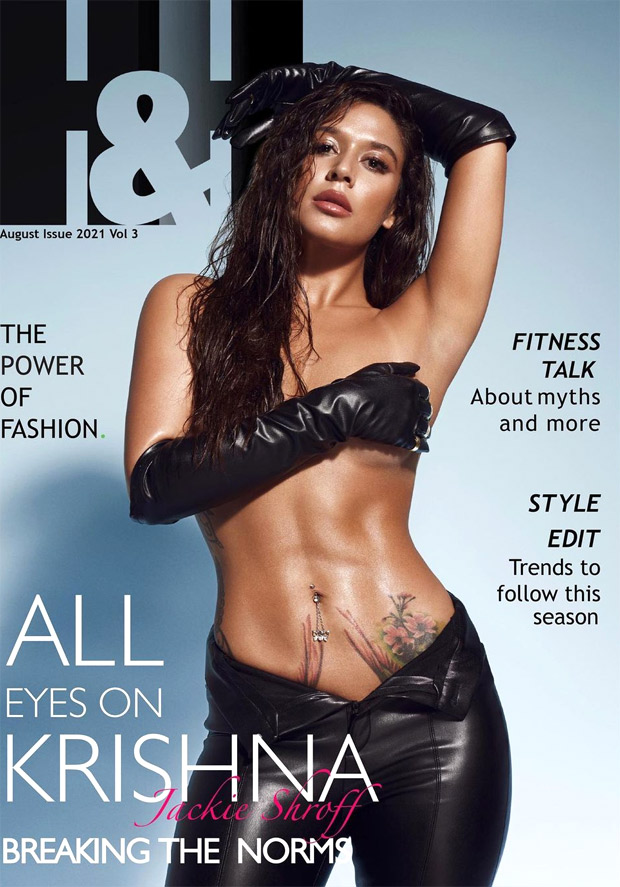 Tiger Shroff's Sister Krishna Goes Topless for a Magazine Cover