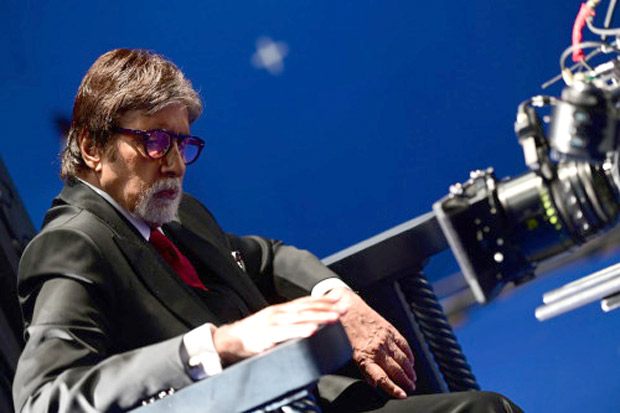 Amitabh Bachchan returns to the sets of Chehre to shoot title track