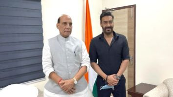 Ajay Devgn meets Honorable Defence Minister of India, Rajnath Singh; receives praises for depicting the efforts of the Indian Armed Forces during the 1971 war