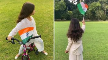 Ghajini actress Asin gives a sneak peek of her daughter Arin celebrating 75th Independence Day