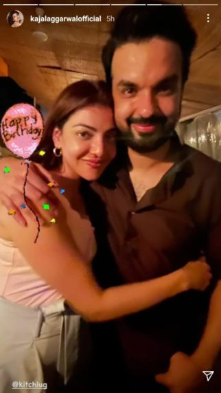 """Kajal Aggarwal shares adorable pictures with Gautam Kitchlu on his birthday and wishes him, """"Happiest birthday my Patchkins"""""""