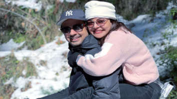 """""""After an intense 6 weeks of 16- hour work days"""", says Kajal Aggarwal as she reunites with her husband Gautam Kitchlu after a long gap"""