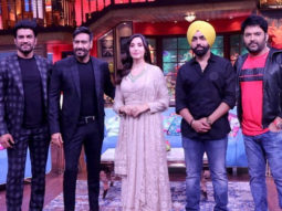 Ajay Devgn and the team of Bhuj at The Kapil Sharma Show