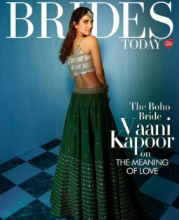 Vaani Kapoor On The Covers Of Brides Today