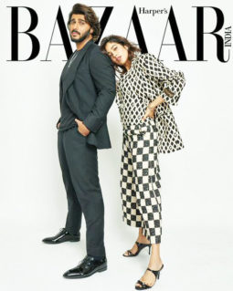 Arjun Kapoor And Janhvi Kapoor On The Covers Of Harper's Bazaar