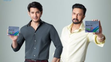 Health OK brings togetherMahesh Babu and Kichcha Sudeepa for the first time as brand ambassadors
