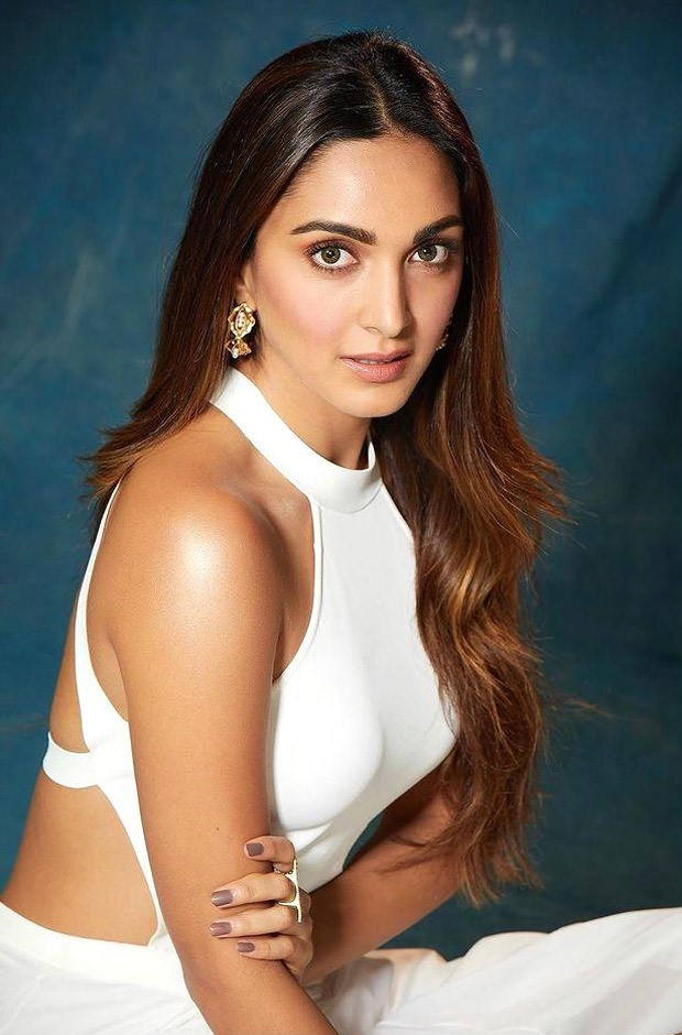 Kiara Advani is a complete vision in white Ralph Lauren evening dress worth Rs.2 lakhs
