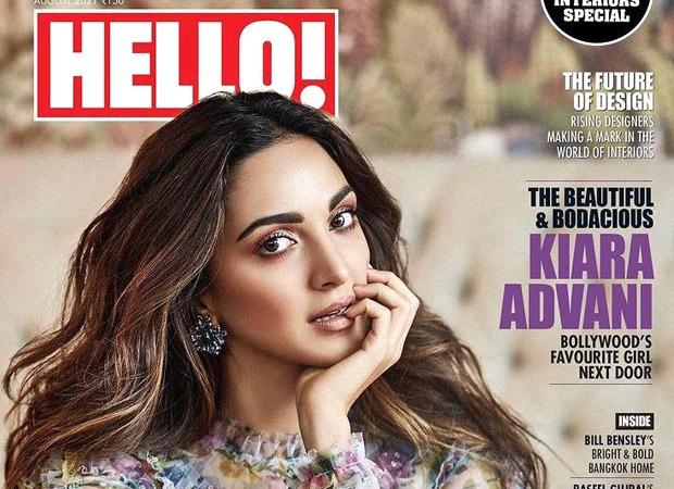 Kiara Advani looks ethereal in ruffled midi dress worth Rs.68k for HELLO magazine's August cover