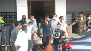 Photos: Ajay Devgn, Saif Ali Khan and Kareena Kapoor Khan with son Taimur spotted at Kalina airport