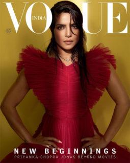 Priyanka Chopra On the covers of Vogue, Sep 2021