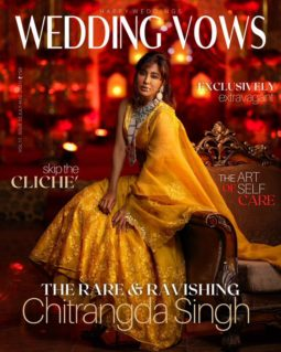 Deepika Padukone On The Covers Of Wedding Vows