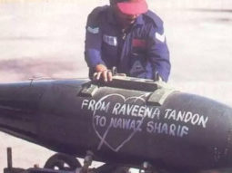 Shershaah shows how the Indian Armed force attacked the enemy during the Kargil War for their taunts on Madhuri Dixit and Raveena Tandon