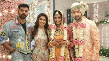 Abhi-Pragya and Karan-Preeta make a grand entry at Rishi and Lakshmi's wedding in Bhagya Lakshmi