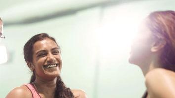 Deepika Padukone plays badminton with Olympic winning shuttler PV Sindhu, says 'burning calories'