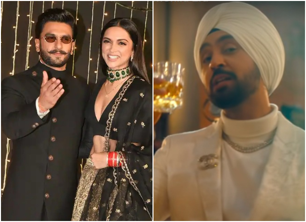 Ranveer Singh and Deepika Padukone can't stop listening to Diljit Dosanjh's 'Lover' from Moonchild Era album