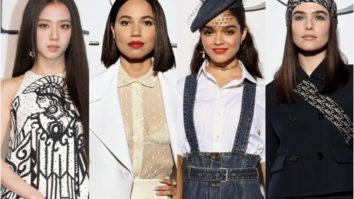 BLACKPINK's Jisoo, Jurnee Smollett, Rachel Zegler and Zoey Deutch make heads turn at Christian Dior SS22 show at Paris Fashion Week