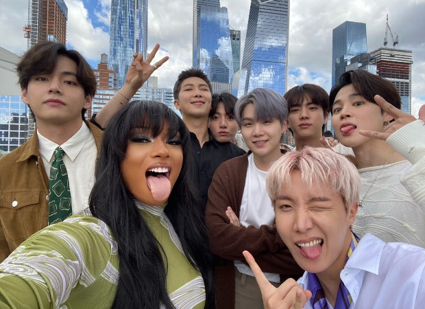 From Coldplay to Megan Thee Stallion, Halsey to Ed Sheeran and Steve Aoki, 12 times BTS worked with international artist