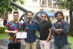 On The Sets Of The Movie Hit