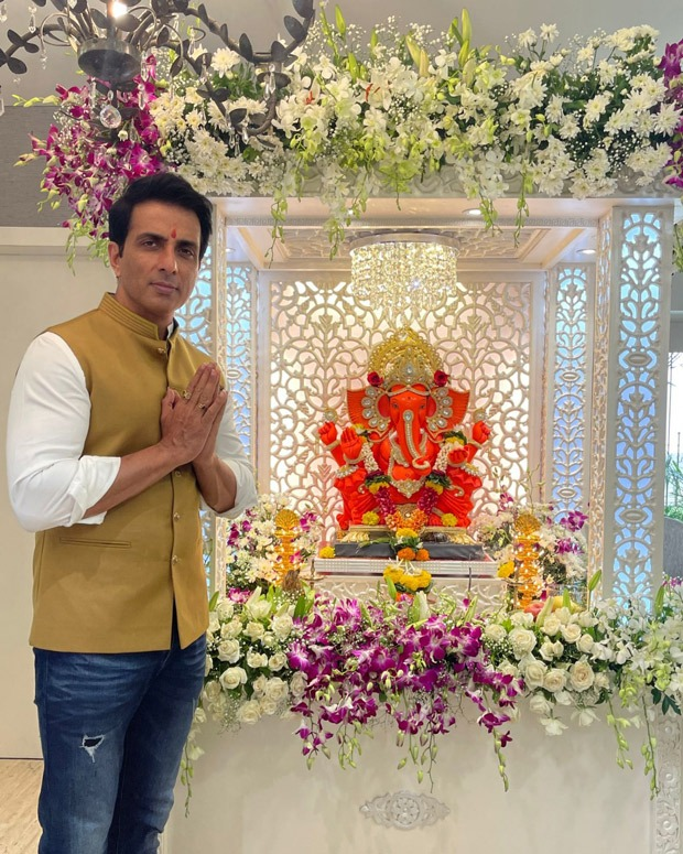 """""""I've been able to fulfil all the promises I made to Ganpati Bappa"""" - Sonu Sood"""