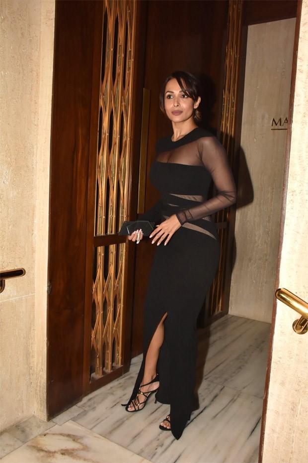 Malaika Arora steps out in a ravishing black look!