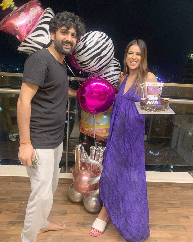 Nia Sharma shares glimpses from her 31st birthday in her new house