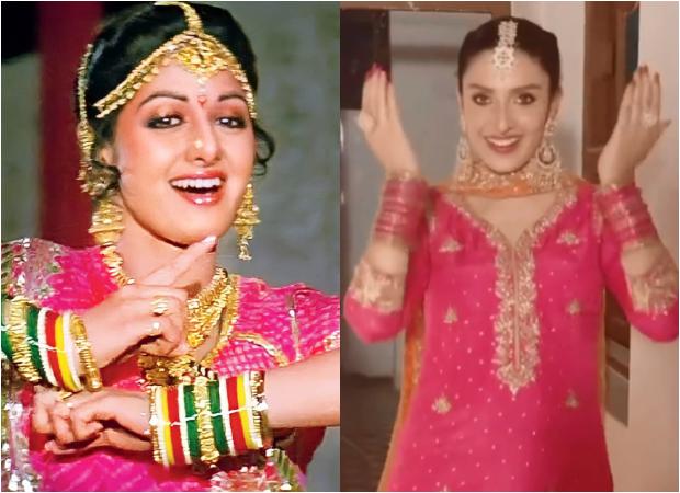 Pakistani actress Ayeza Khan dances to Sridevi's song 'Mere Haathon Mein', watch video