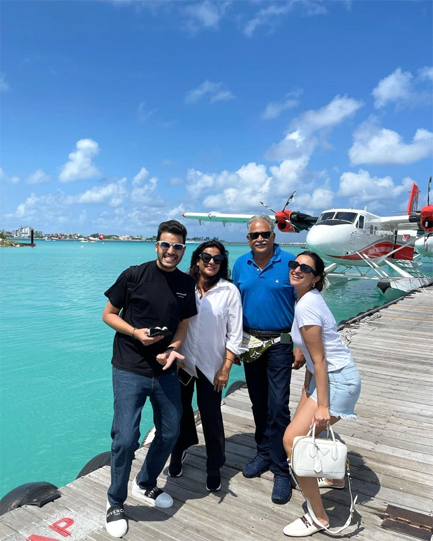 Parineeti Chopra shares glimpses from her family vacation in Maldives