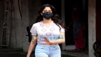 Photos: Janhvi Kapoor spotted at pilates studio in Santacruz