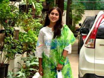 Photos: Sara Ali Khan snapped in Juhu