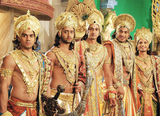 Shaheer Sheikh celebrates 8 years of Mahabharat; shares throwback picture