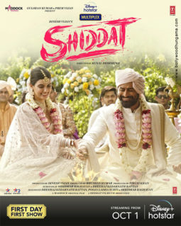 First Look Of The Movie Shiddat