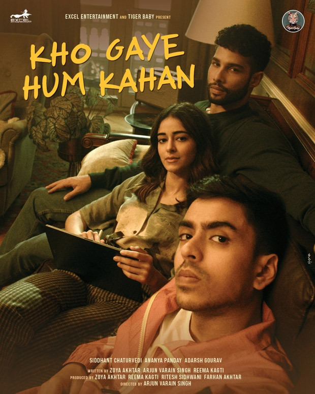 Siddhant Chaturvedi, Ananya Panday and Adarsh Gourav confirmed to star in Kho Gaye Hum Kahan