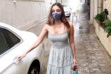 Snapped Kiara Advani at old office of Dharma Productions in Khar, Mumbai