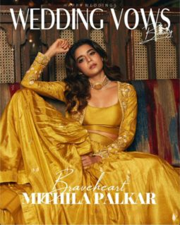 Mithila Palkar On The Covers Of Wedding Vows