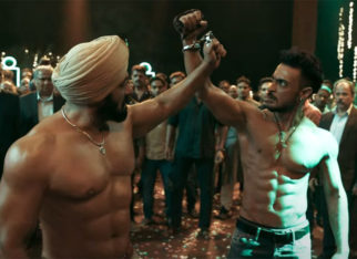 Salman Khan, Aayush Sharma, and Varun Dhawan make the audience danc eto the tunes of Vignaharta from Antim: The Final Truth