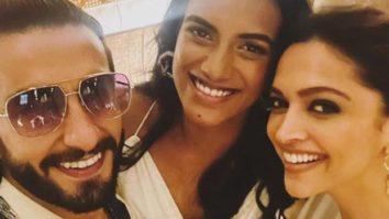 Ranveer Singh and Deepika Padukone dine with Olympic medalist PV Sindhu