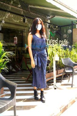 Photos: Rhea Chakraborty spotted at The Farmer's Cafe