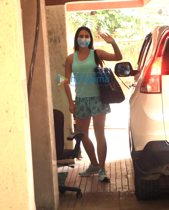 Photos: Sara Ali Khan spotted at a gym in Bandra