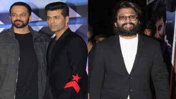 Rohit Shetty and Karan Johar thank Allu Arjun for showering love on Akshay Kumar starrer Sooryavanshi in viral video
