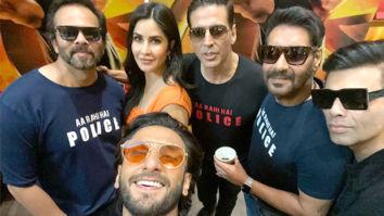 Rohit Shetty shoots independent videos with Ajay Devgn, Ranveer Singh and Akshay Kumar to promote Sooryavanshi